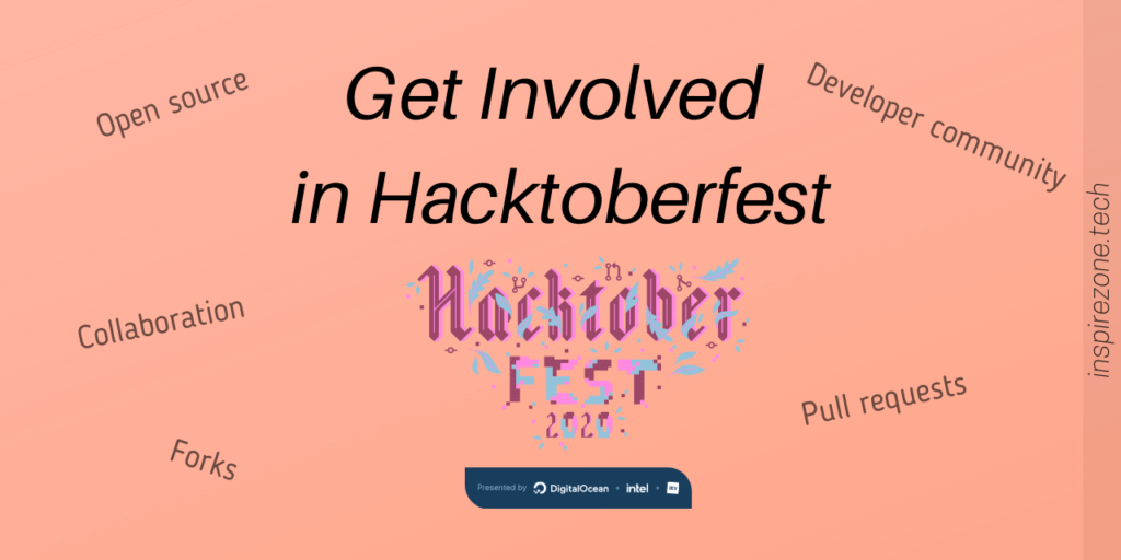 get involved in hacktoberfest