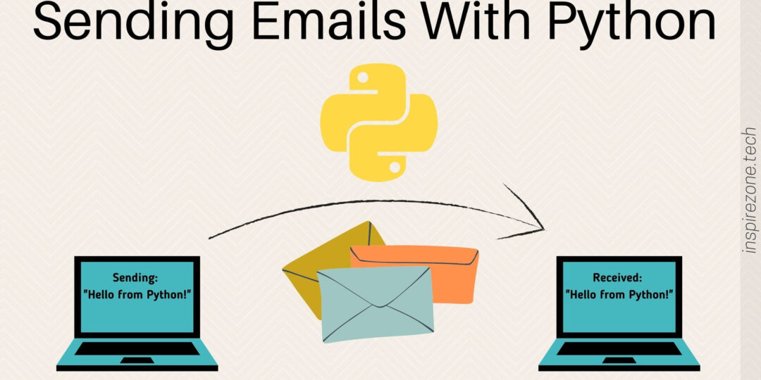 sending emails with python