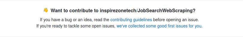 open source repo contributing