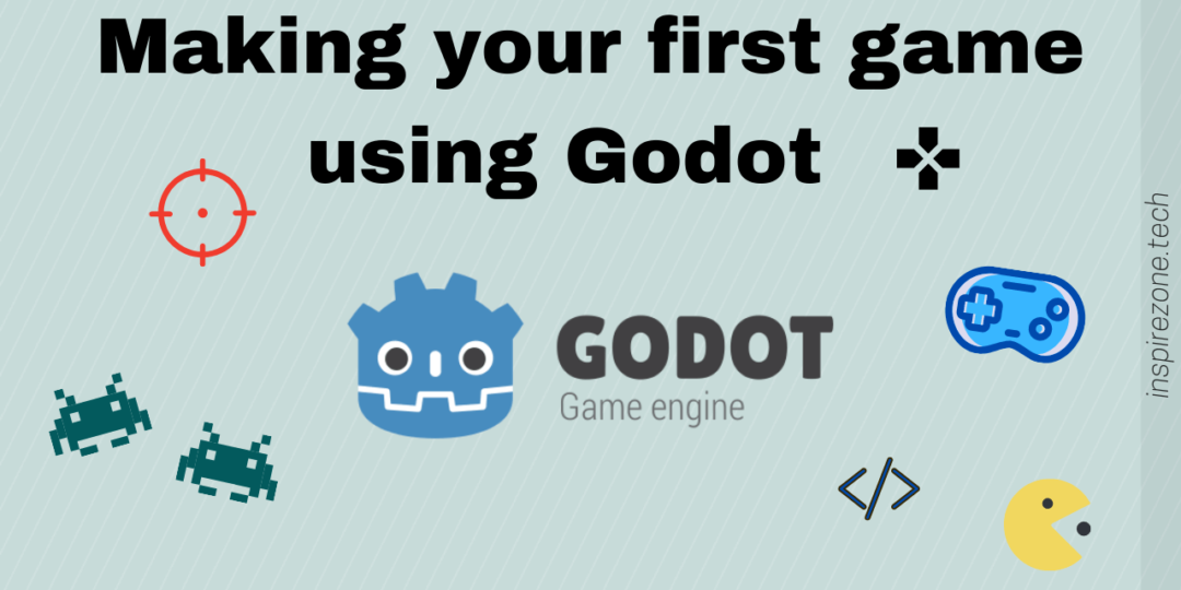 making first game using godot engine