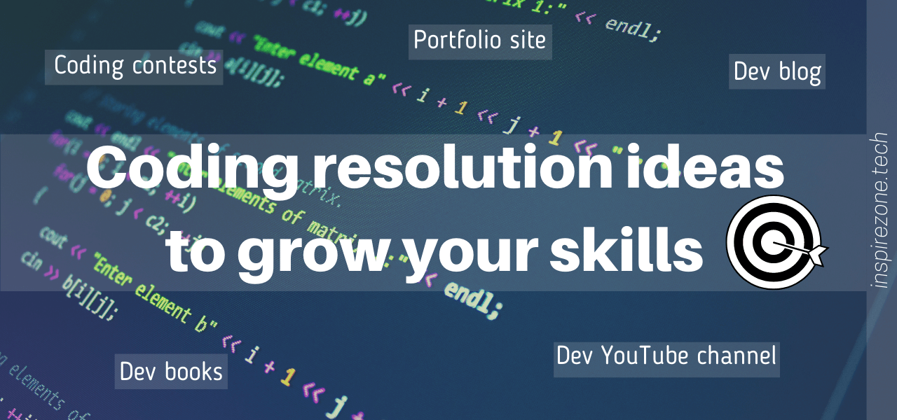 coding resolutions for the new year