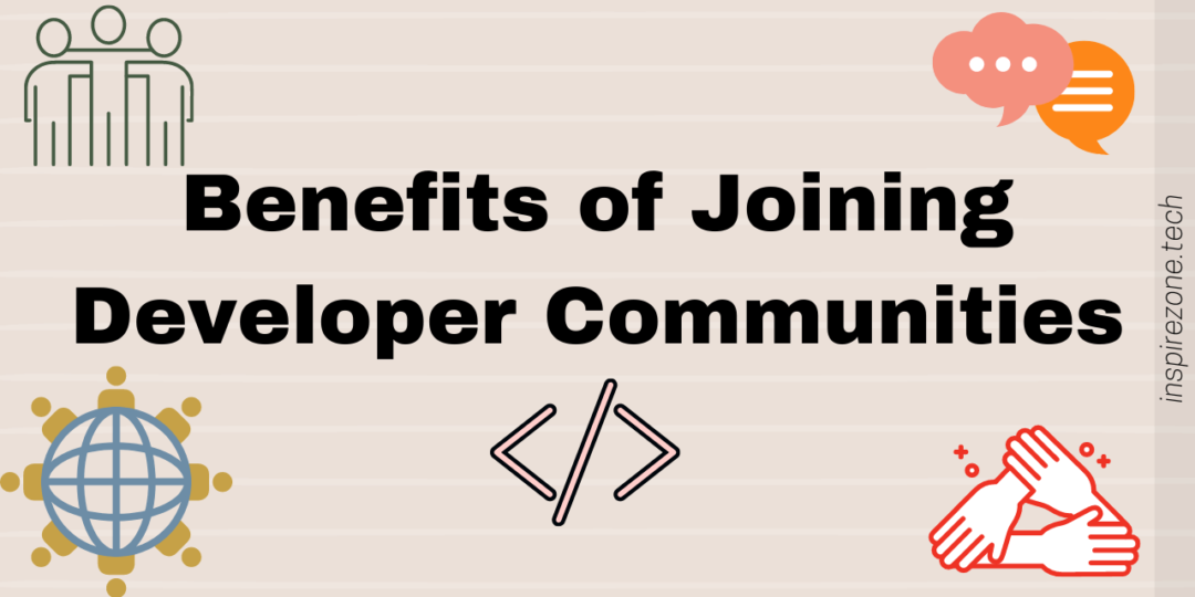 join a developer community