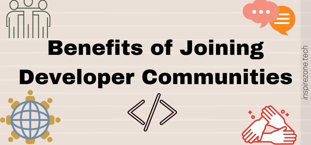 join a developer community
